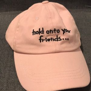 hold onto your friends... dad hat